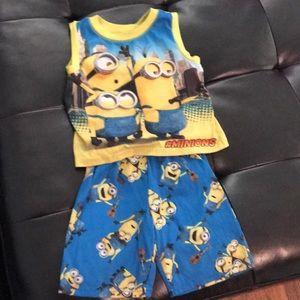 Other - Despicable me pajama set